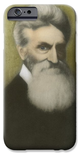 John Brown, American Abolitionist iPhone Case by Photo Researchers