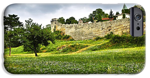 Serbia iPhone Cases - Kalemegdan fortress in Belgrade iPhone Case by Elena Elisseeva