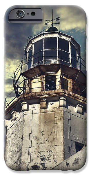 Floral Photographs iPhone Cases - Lighthouse iPhone Case by Joana Kruse