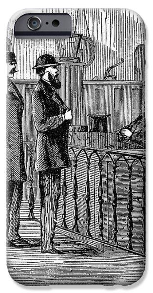LUDLOW STREET JAIL, 1868 iPhone Case by Granger