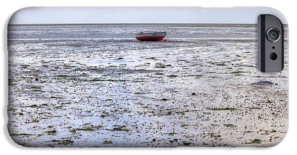 Wadden Sea iPhone Cases - Munkmarsch - Sylt iPhone Case by Joana Kruse