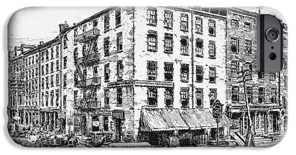Recently Sold -  - President iPhone Cases - New York: Fraunces Tavern iPhone Case by Granger