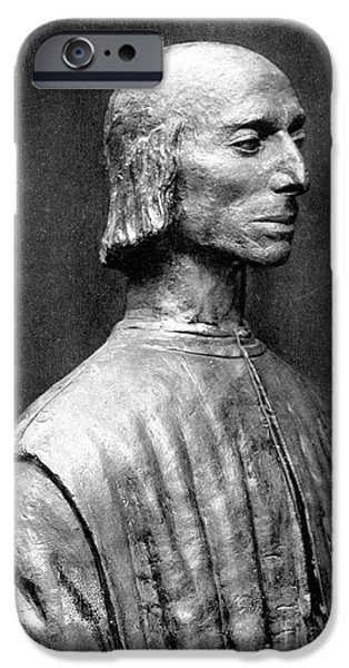 NICCOLO MACHIAVELLI iPhone Case by Granger