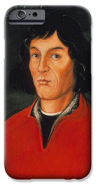 Copernicus iPhone Cases - Nicolaus Copernicus, Polish Astronomer iPhone Case by Detlev Van Ravenswaay