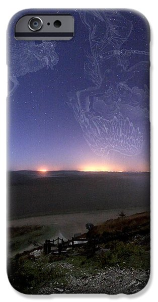 Night Sky iPhone Case by Laurent Laveder