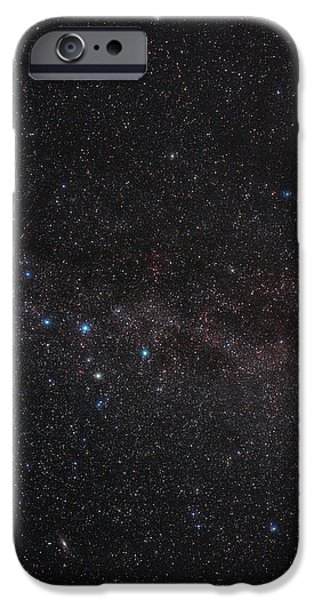 North Celestial Pole iPhone Case by Eckhard Slawik