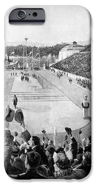OLYMPIC GAMES, 1896 iPhone Case by Granger