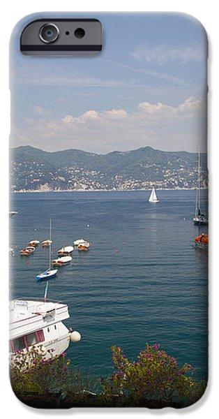 Portofino in the Italian Riviera in Liguria Italy iPhone Case by David Smith