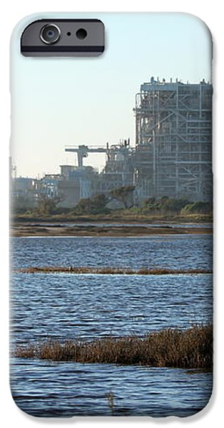 Power Station iPhone Case by Henrik Lehnerer