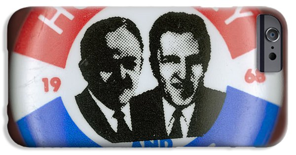 Muskie iPhone Cases - Presidential Campaign, 1968 iPhone Case by Granger