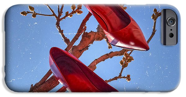 Sun Shade iPhone Cases - Pumps iPhone Case by Joana Kruse
