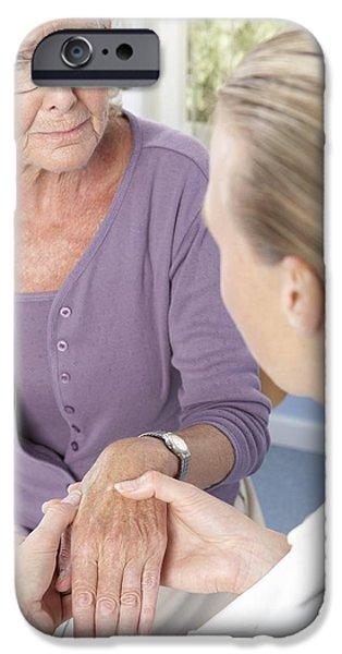 Disorder iPhone Cases - Rheumatoid Arthritis iPhone Case by Adam Gault