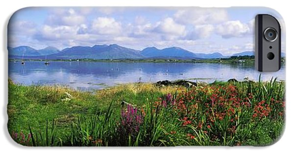 Mountain iPhone Cases - Roundstone, Connemara, County Galway iPhone Case by The Irish Image Collection