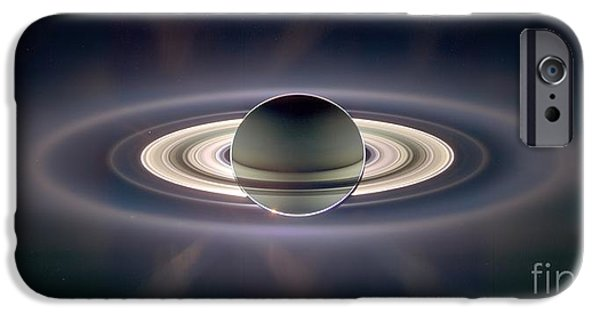 21st Century iPhone Cases - Saturn iPhone Case by NASA/Science Source