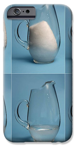 Snow Melting iPhone Case by Ted Kinsman