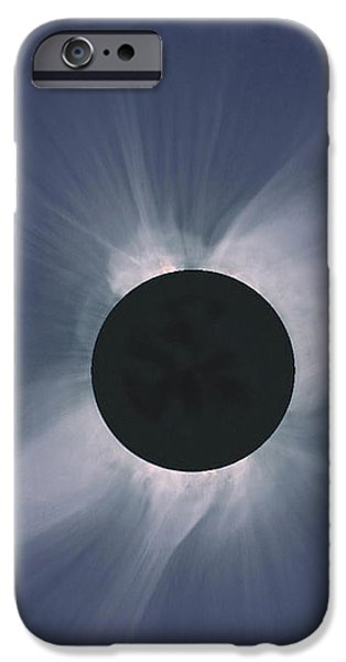 Solar Eclipse iPhone Case by NASA