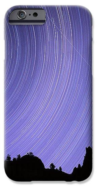 Star Trails iPhone Case by Kaj R. Svensson