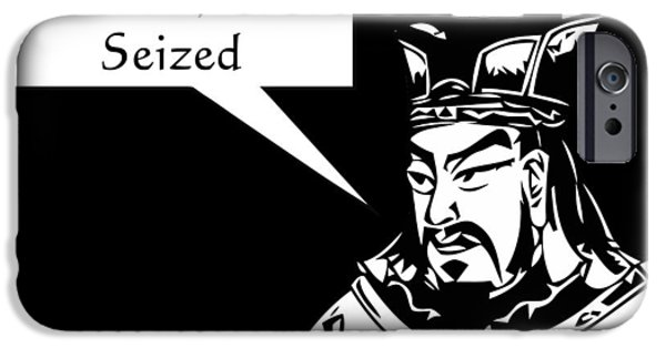 History iPhone Cases - Sun Tzu iPhone Case by War Is Hell Store
