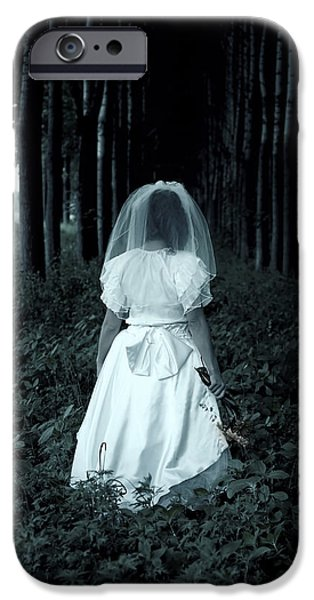 the bride iPhone Case by Joana Kruse