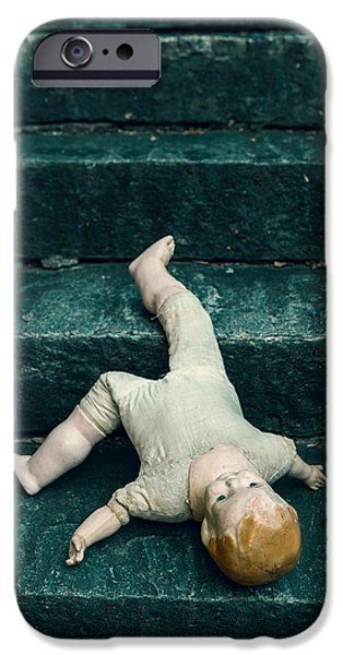 Dolls iPhone Cases - The Doll iPhone Case by Joana Kruse