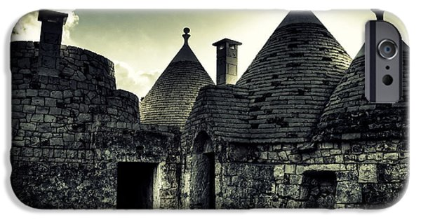 Roof iPhone Cases - Trulli iPhone Case by Joana Kruse