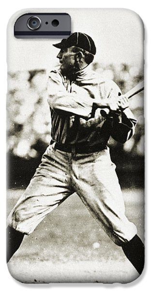 TY COBB (1886-1961) iPhone Case by Granger