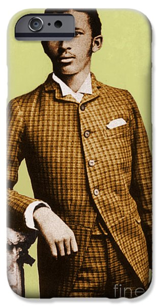Discrimination iPhone Cases - W.e.b. Du Bois, Civil Rights Activist iPhone Case by Photo Researchers