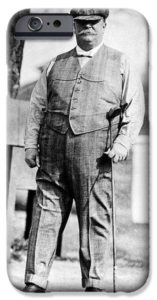Taft iPhone Cases - William H. Taft (1857-1930) iPhone Case by Granger