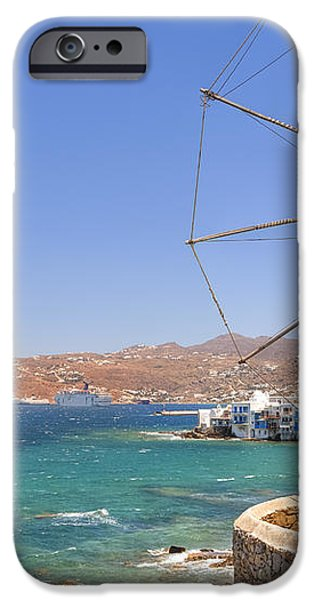 Mykonos iPhone Case by Joana Kruse