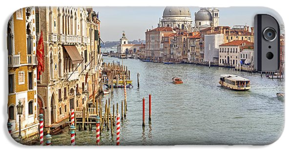 Boat iPhone Cases - Venezia iPhone Case by Joana Kruse
