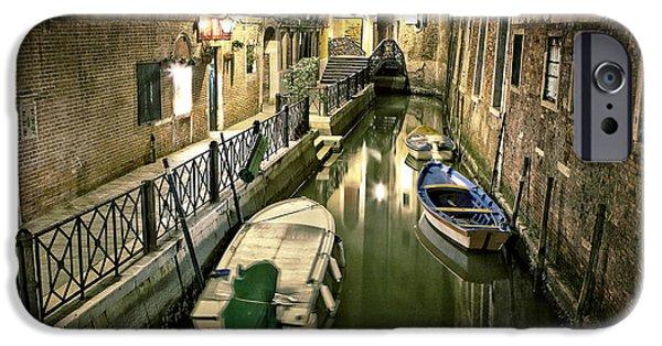 Venetian Doors iPhone Cases - Venezia iPhone Case by Joana Kruse