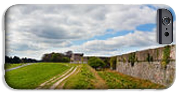 Ammunition iPhone Cases - 360 Panorama of Phoenix Park and Chapelizod iPhone Case by Semmick Photo