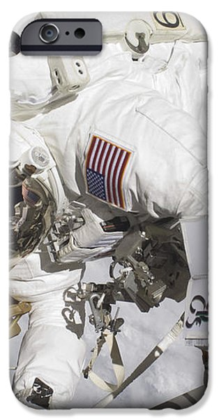 An Astronaut Participates In A Session iPhone Case by Stocktrek Images