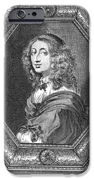 CHRISTINA (1626-1689) iPhone Case by Granger