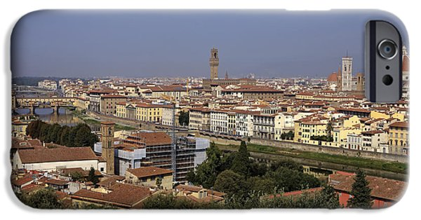 Florence Cathedral iPhone Cases - Florence iPhone Case by Joana Kruse