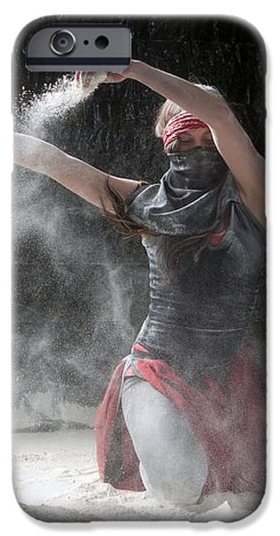 Flour Dancer Series iPhone Case by Cindy Singleton