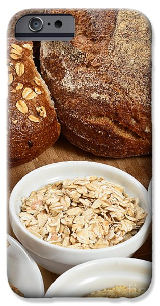 Oatmeal iPhone Cases - High Fiber Food iPhone Case by Photo Researchers, Inc.