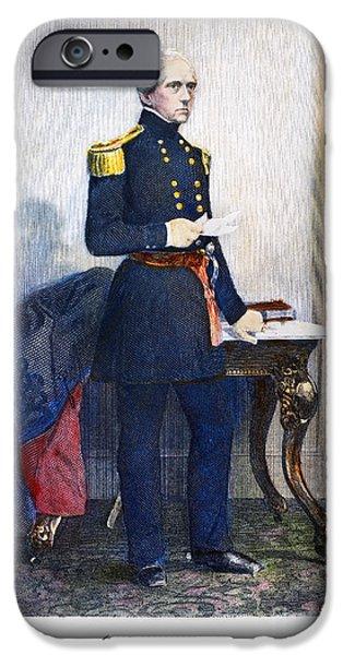 JOHN ELLIS WOOL (1784-1869) iPhone Case by Granger