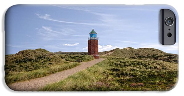 Red Cliffs iPhone Cases - Kampen - Sylt iPhone Case by Joana Kruse