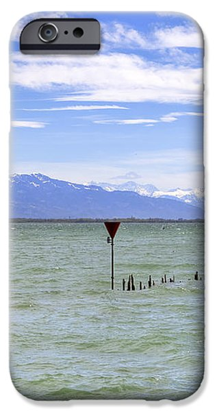 Lake Constance iPhone Case by Joana Kruse