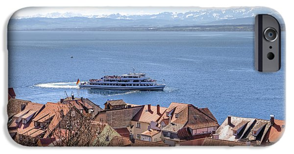 Prospects iPhone Cases - Lake Constance Meersburg iPhone Case by Joana Kruse