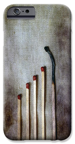 matches iPhone Case by Joana Kruse