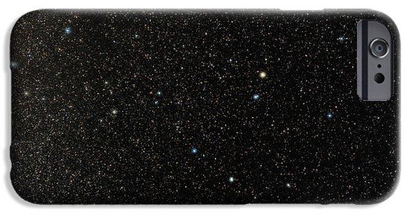 Ursa Minor iPhone Cases - North Celestial Pole iPhone Case by Eckhard Slawik