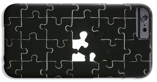 Cooperation iPhone Cases - Puzzle iPhone Case by Joana Kruse