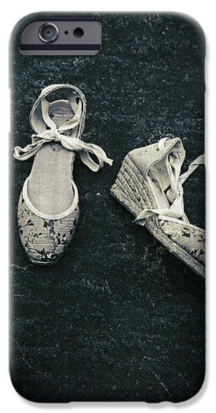 Ballerina Dancing iPhone Cases - Shoes iPhone Case by Joana Kruse