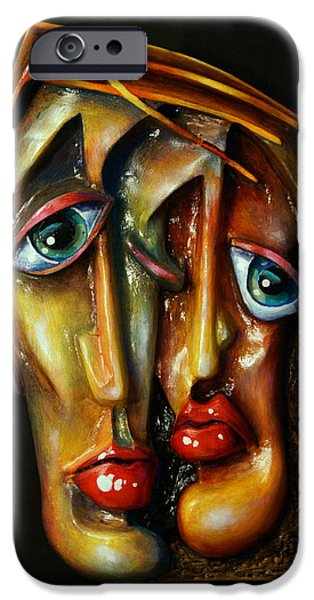 'Together' iPhone Case by Michael Lang