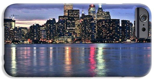 Business Photographs iPhone Cases - Toronto skyline iPhone Case by Elena Elisseeva