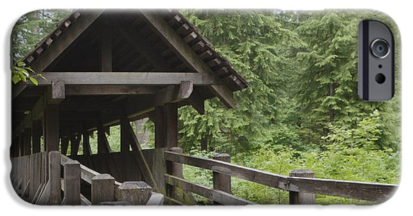 Covered Bridge iPhone Cases - Untitled iPhone Case by Douglas Orton