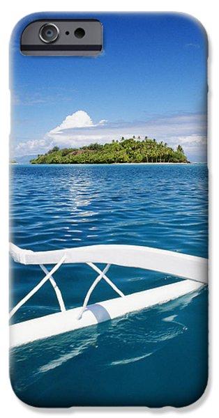 View Of Tahiti iPhone Case by Joe Carini - Printscapes