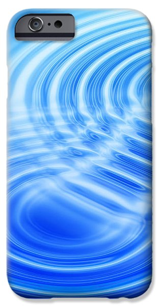 Water Ripples iPhone Case by Pasieka